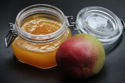 confiture mangue orange