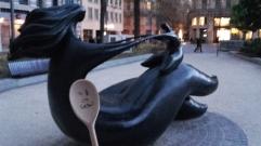 monsieur Woody - sculture Toutain - Toulouse
