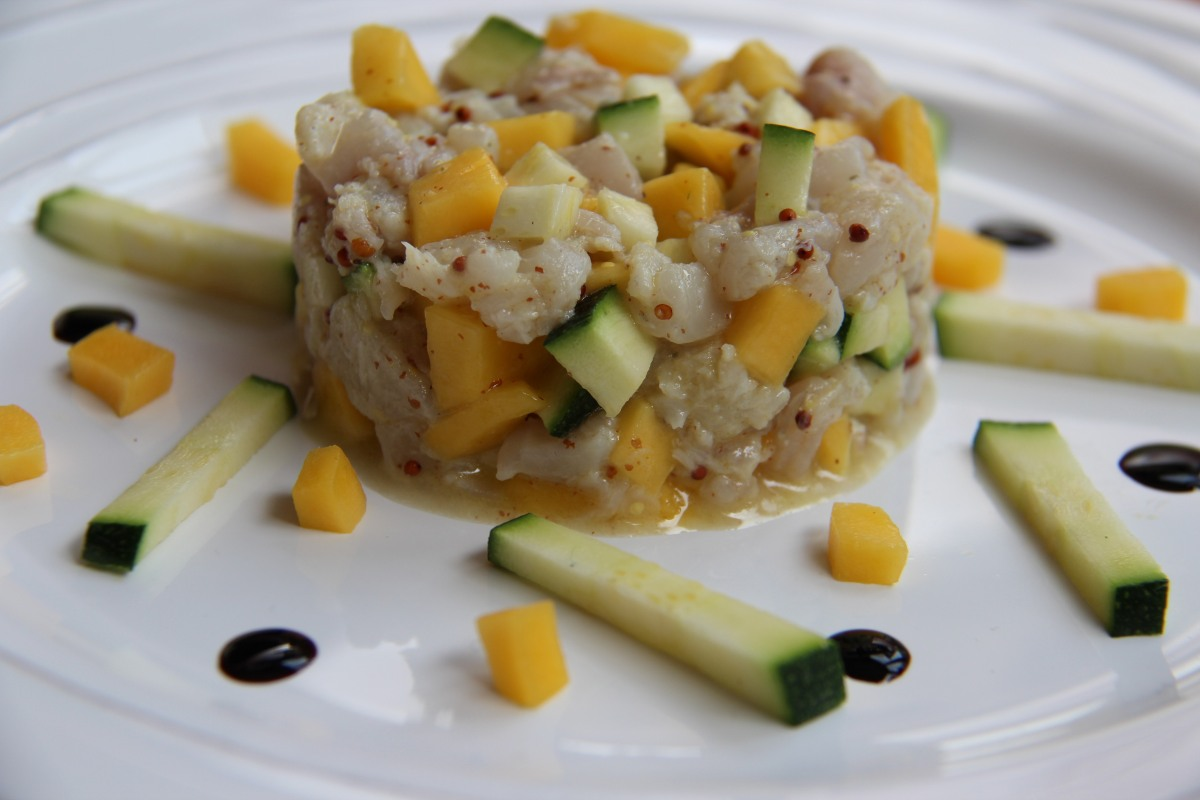 Tartare de poisson la mangue sharing cuisine for Poisson cuisine