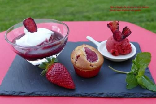 trilogie fraise
