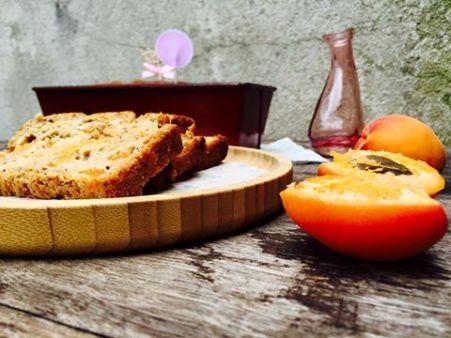 cake au flocons d'avoine et abricots