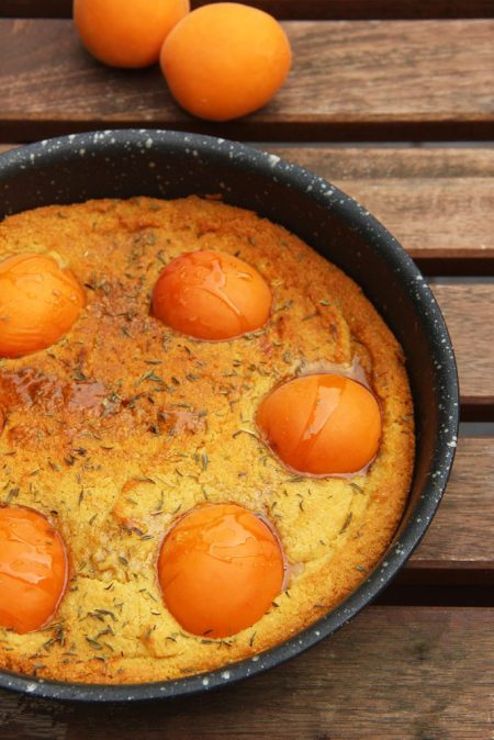gateau-polenta-abricots