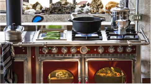 piano de cuisine, dominique Charby, fourneau, steel cucine, corradi, blog cuisine Lyon, vente