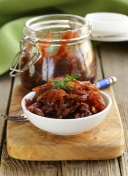 red onion marmalade with thyme French cuisine