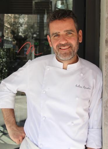 julien gautier, M restaurant, Lyon 6, avenue foch, sharing cuisine, recette, vidéo, food and you, guide michelin, baptême de chef