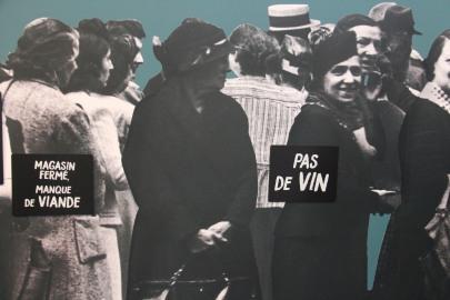 CHRD Lyon, sharing cuisine, blog Lyon, soufflés aux miettes de pain, seconde guerre mondiale, occupation, exposition, pénurie alimentaire