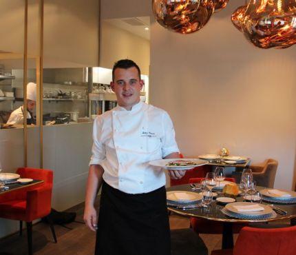 chef vincent leleu, restaurant l'éclat, sharing cuisine, blog lyon, restaurant coup de coeur, rouget façon bouillabaisse, tuto