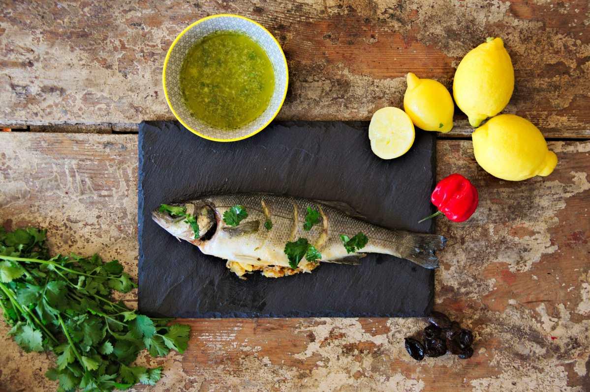 Recette bar farci l orientale sharing cuisine - Cuisine orientale facile ...