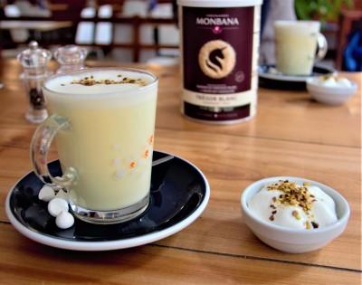 chocolat monbana, konditori, Lyon, brunch, chocolat blanc, latte arte, chocolat chaud, cocktail, piment, sharing cuisine, blog cuisine lyon